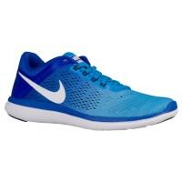 Nike Flex 2016 RN Femmes chaussures de sport bleu/bleu clair LTE033