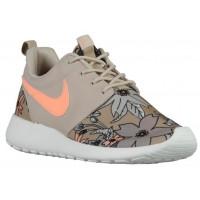 Nike Roshe One Print Premium Femmes chaussures bronzage/gris TLN542