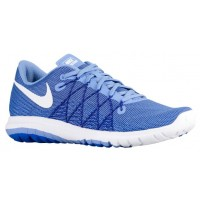 Nike Flex Fury 2 Femmes baskets bleu clair/blanc NKO569
