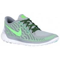 Nike Free 5.0 2015 Femmes sneakers gris/vert clair MMR016