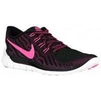 Nike Free 5.0 2015 Femmes chaussures de sport noir/rose DVC358