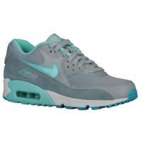 Nike Air Max 90 Femmes chaussures gris/bleu clair KJB979