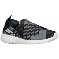 Nike Roshe One Slip Femmes chaussures de course noir/gris UZN556