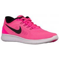 Nike Free RN Femmes baskets rose/noir AXN511