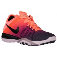 Nike Free TR 6 Femmes baskets Orange/noir TUK216