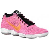 Nike Flyknit Zoom Agility Femmes chaussures de sport rose/noir PJY400