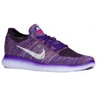 Nike Free RN Flyknit Femmes sneakers violet/blanc JMY075