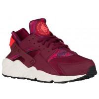 Nike Air Huarache Camo PrintFemmes chaussures de sport bordeaux/rose YTZ023