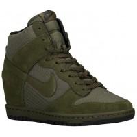 Nike Dunk Sky Hi Femmes sneakers vert/vert VBL911