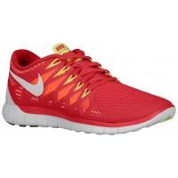 Nike Free 5.0 2014 Femmes chaussures de course rouge/Orange EUE283