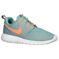 Nike Roshe One Femmes chaussures de sport vert clair/Orange FDS143