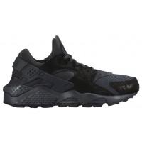 Nike Air Huarache Premium Femmes baskets Tout noir/noir QGS155