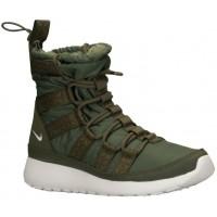 Nike Roshe One Hi Sneakerboot Femmes chaussures de sport vert/blanc MKY307