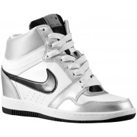 Nike Force Sky High Femmes chaussures de sport blanc/argenté SHZ667