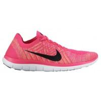 Nike Free 4.0 Flyknit Femmes sneakers rose/noir OXY211