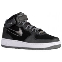 Nike Air Force 1 '07 Mid Suede Femmes baskets noir/gris CBL377