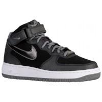 Nike Air Force 1 '07 Mid Suede Femmes baskets noir/gris CBL377