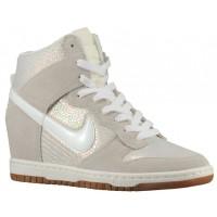 Nike Dunk Sky Hi Femmes chaussures blanc/blanc OTP367