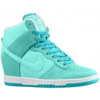 Nike Dunk Sky Hi Femmes sneakers vert clair/blanc UMB644