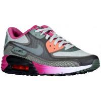 Nike Air Max 90 Femmes chaussures de course gris/olive verte DUN970