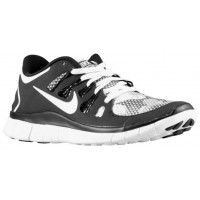 Nike Free 5.0+ Femmes chaussures de sport blanc/noir NBP606