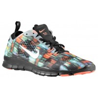 Nike Free 5.0 TR Fit 4 Femmes baskets noir/Orange KXJ765
