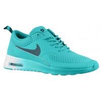 Nike Air Max Thea Femmes chaussures de sport vert clair/bleu marin RJC356