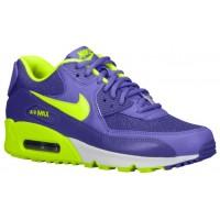 Nike Air Max 90 Femmes baskets violet/vert clair MBG612