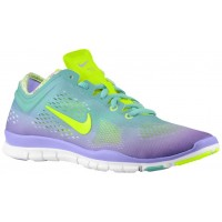 Nike Free 5.0 TR Fit 4 Femmes chaussures violet/vert clair ZLH121