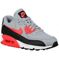 Nike Air Max 90 Femmes chaussures gris/rouge NLO543