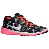 Nike Free 5.0 TR Fit 5 Femmes chaussures de course noir/Orange NOZ501