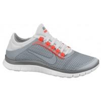 Nike Free 3.0 V5 Ext Femmes chaussures de course gris/blanc ISK798