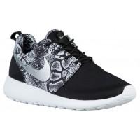 Nike Roshe One Print Femmes baskets noir/blanc EMO847