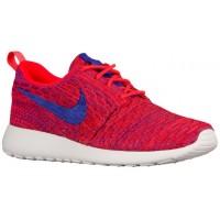Nike Roshe One Flyknit Femmes chaussures rouge/bleu DMX501