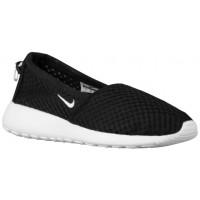 Nike Roshe One Slip Femmes chaussures de course noir/blanc GWH736