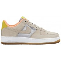 Nike Air Force 1 '07 Mid Premium Femmes baskets argenté/bronzage YEB194