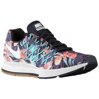 Nike Air Zoom Pegasus 32 Femmes chaussures de course bleu marin/blanc WWB078