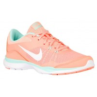 Nike Flex Trainer 5 Femmes baskets Orange/vert clair IKE234