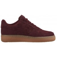 Nike Air Force 1 '07 Low Suede Femmes sneakers bordeaux/marron DCK546