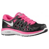 Nike Dual Fusion Run 2 Femmes baskets noir/gris LLA028