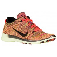 Nike Free TR 5 Flyknit Femmes baskets Orange/noir XQS984