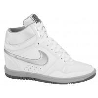 Nike Force Sky High Femmes baskets blanc/argenté YNT738