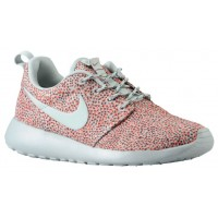 Nike Roshe One Print Femmes baskets Orange/gris HGC893