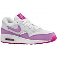 Nike Air Max 1 Essential Femmes chaussures blanc/violet LTU920