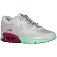 Nike Air Max 90 Femmes chaussures gris/vert clair JOJ696