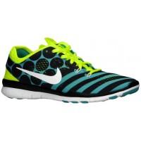 Nike Free 5.0 TR Fit 5 Femmes chaussures bleu clair/noir AQI549