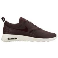 Nike Air Max Thea Femmes chaussures de sport marron/bordeaux VUK457