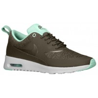 Nike Air Max Thea Femmes chaussures de course olive verte/vert clair WXL919