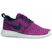 Nike Roshe One Flyknit Femmes sneakers violet/bleu marin SEU763