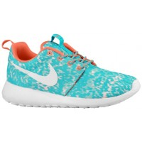 Nike Roshe One Femmes baskets vert clair/Orange EWL482
